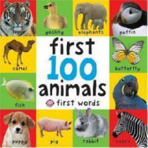First 100 Animals by Roger Priddy, 9781843323440