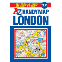 Handy Map of Central London, 9781843484738