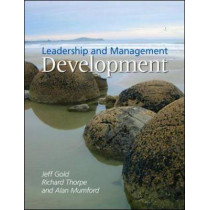 Leadership and Management Development by Jeffrey Gold, 9781843982449