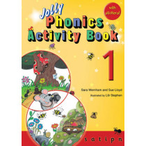 Jolly Phonics Activity Book 1: in Precursive Letters (British English edition) by Sara Wernham, 9781844141531