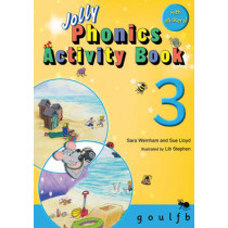 Jolly Phonics Activity Book 3: in Precursive Letters (British English edition) by Sara Wernham, 9781844141555