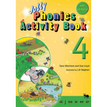 Jolly Phonics Activity Book 4: In Precursive Letters (British English edition) by Sara Wernham, 9781844141562