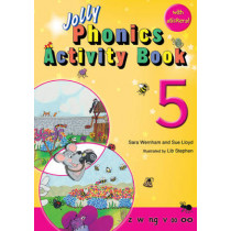 Jolly Phonics Activity Book 5: In Precursive Letters (British English edition) by Sara Wernham, 9781844141579
