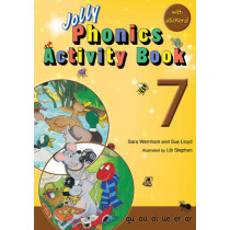 Jolly Phonics Activity Book 7: In Precursive Letters (British English edition) by Sara Wernham, 9781844141593