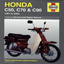 Honda C50, C70 & C90 (67 - 03): (67 - 03) by Jeremy Churchill, 9781844253753