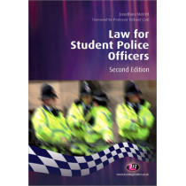 Law for Student Police Officers by Jonathan Merritt, 9781844452507