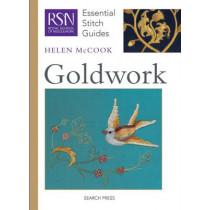 RSN Essential Stitch Guides: Goldwork by Helen McCook, 9781844487028