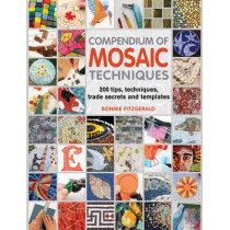 Compendium of Mosaic Techniques: 300 Tips, Techniques, Trade Secrets and Templates by Bonnie Fitzgerald, 9781844488049