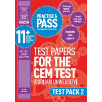 Practise and Pass 11+ CEM Test Papers - Test Pack 2 by Peter Williams, 9781844556373