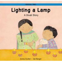 Lighting a Lamp: A Divali Story by Jonny Zucker, 9781845072933