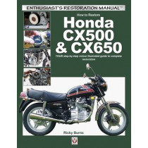 How to Restore Honda Cx500 & Cx650 by Ricky Burns, 9781845847739