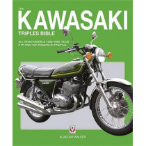 Kawasaki Triples by Alastair Walker, 9781845849818