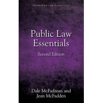 Public Law Essentials by Jean McFadden, 9781845861360