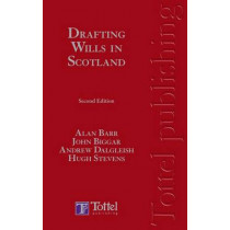 Drafting Wills in Scotland by Alan Barr, 9781845920401