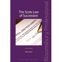 The Scots Law of Succession by Hilary Hiram, 9781845922948