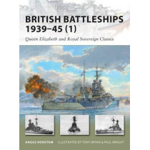 British Battleships 1939-45 (1): Queen Elizabeth and Royal Sovereign Classes by Paul Wright, 9781846033889