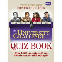 The University Challenge Quiz Book by Steve Tribe, 9781846078569