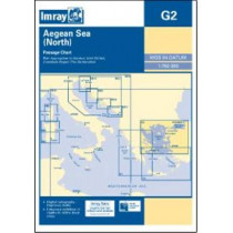 Imray Chart G2: Aegean Sea (North) by Imray, 9781846235627