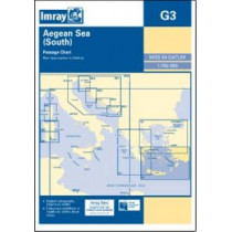 Imray Chart G3: Aegean Sea (South) by Imray, 9781846236389