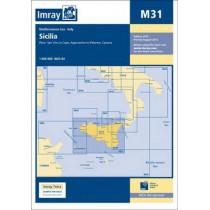 Imray Chart M31: Sicily by Imray, 9781846237072