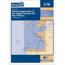 Imray Chart M18: Western Approaches to the English Channel and Biscay, Southern Ireland to Northern Spain by Imray, 9781846237164