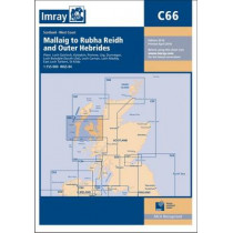 Imray Chart C66: Mallaig to Rudha Reidh and Outer Hebrides by Imray, 9781846237478