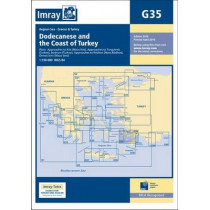 Imray Chart G35: Dodecanese and the Coast of Turkey by Imray, 9781846237621