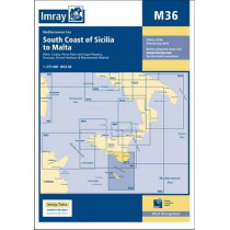 Imray Chart M36: South Coast of Sicilia to Malta by Imray, 9781846237713