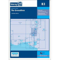 Imray Chart B3: The Grenadines- St Vincent to Grenada by Imray, 9781846237782