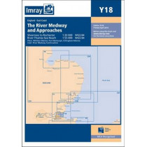 Imray Chart Y18: The River Medway and Approaches - Sheerness to Rochester and River Thames Sea Reach by Imray, 9781846238253