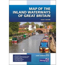 Map of the Inland Waterways of Great Britain by Jane Cumberlidge, 9781846238277