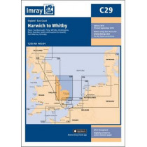 Imray Chart C29: Harwich to Whitby by Imray, 9781846238352