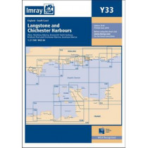 Imray Chart Y33: Langstone and Chichester Harbours by Imray, 9781846238390