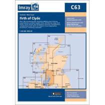 Imray Chart C63: Firth of Clyde by Imray, 9781846238567