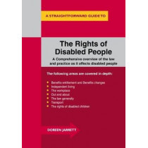 The Rights Of Disabled People: A Straightforward Guide to... by Doreen Jarrett, 9781847165251