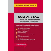 Company Law by Andrew Pierce, 9781847166982