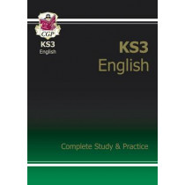 New KS3 English Complete Revision & Practice (with Online Edition) by CGP Books, 9781847621566
