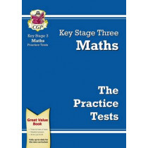 KS3 Maths Practice Tests by CGP Books, 9781847622556