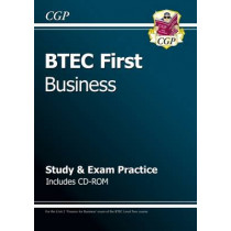 BTEC First in Business - Study & Exam Practice with CD-ROM by CGP Books, 9781847624734