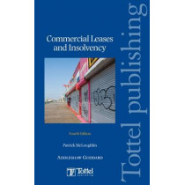 Commercial Leases and Insolvency by Patrick McLoughlin, 9781847661470