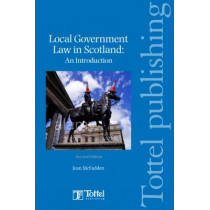 Local Government Law in Soctland by Jean McFadden, 9781847662699