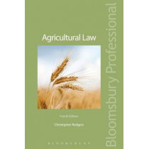 Agricultural Law by Christopher Rodgers, 9781847669483