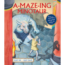A-Maze-ing Minotaur by Juliet Rix, 9781847806543