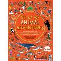 Atlas of Animal Adventures by Emily Hawkins, 9781847807922