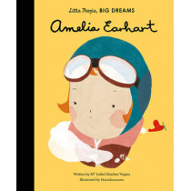 Amelia Earhart by Maria Isabel Sanchez Vegara, 9781847808851