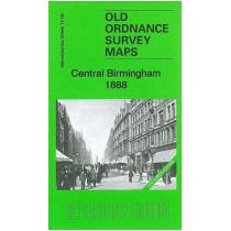 Central Birmingham 1888: Warwickshire Sheet 14.05a by Barrie Trinder, 9781847844927