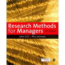 Research Methods for Managers by John Gill, 9781847870940