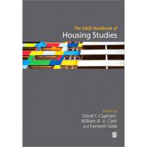 The SAGE Handbook of Housing Studies by William A. Clark, 9781847874306