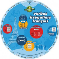 French Verb Wheel (Verbes Irreguliers Francais) by Stephane Derone, 9781847950390