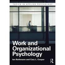 Work and Organizational Psychology by Ian Rothmann, 9781848722200